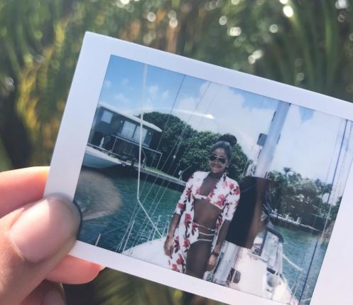 Yacht Polaroid
